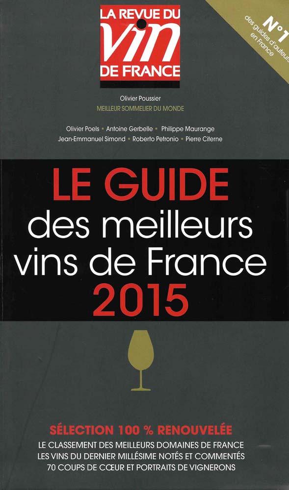 Le Guide des meilleurs vins de France 2015