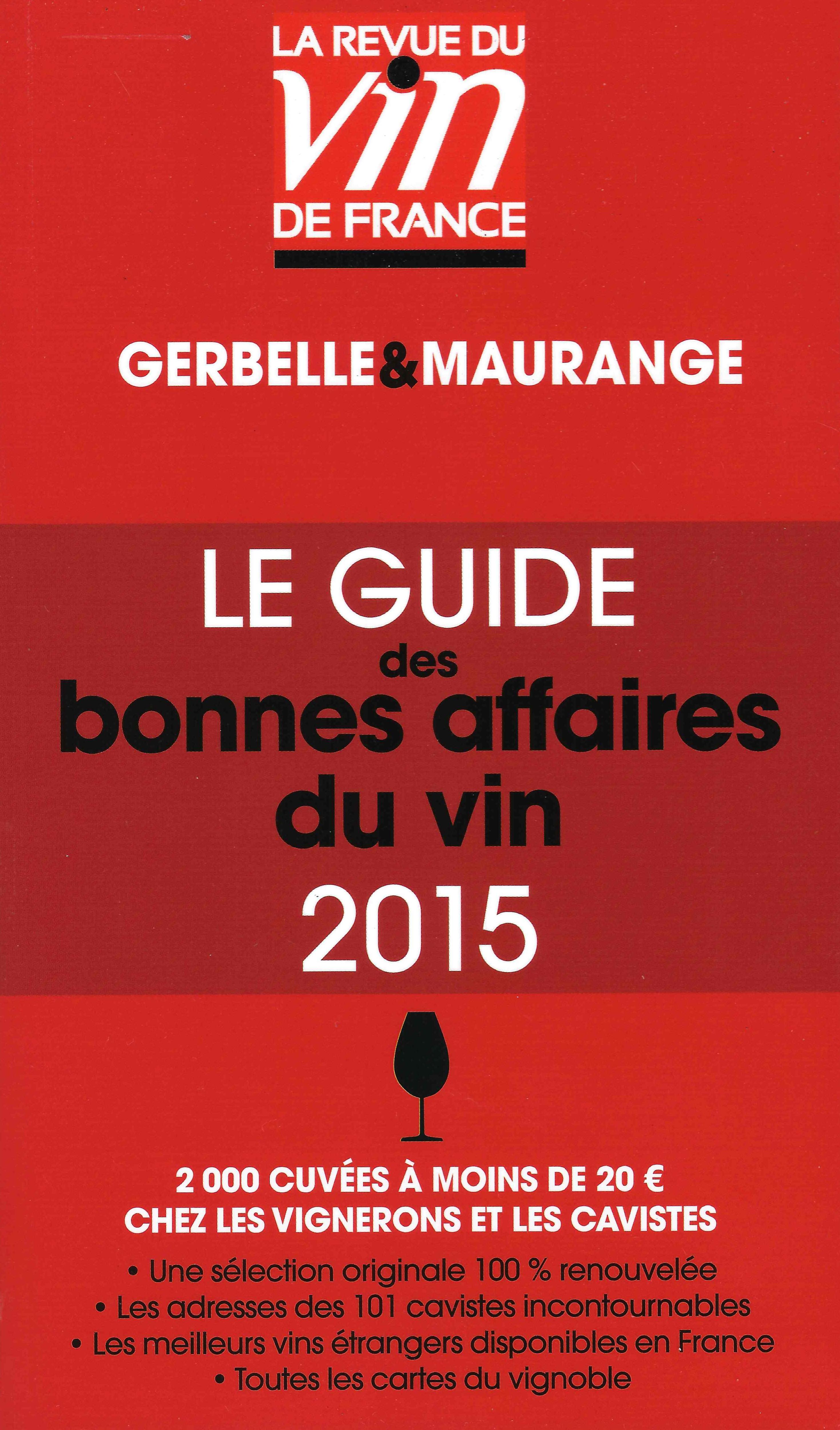 Le Guide des bonnes affaires du vin 2015