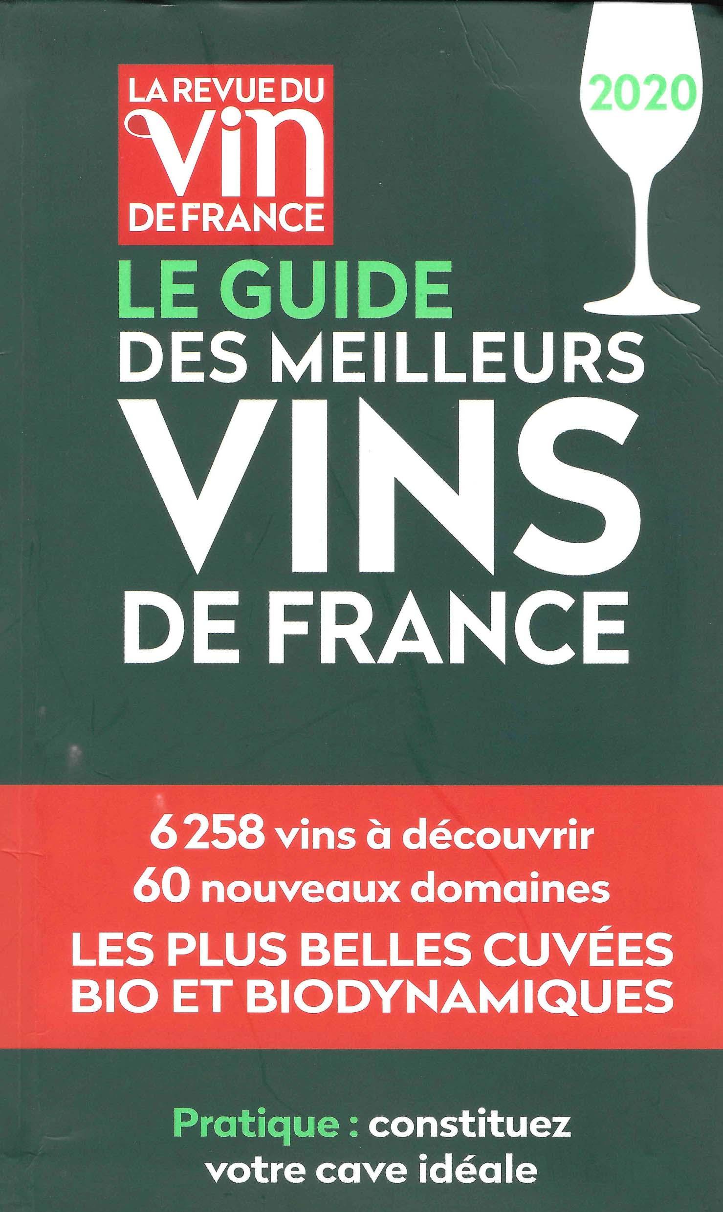 Le Guide des Meilleurs Vins de France 2020